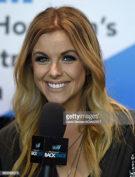 Singer Lindsay Ell attends the 52nd Academy Of Country Music Awards Cumulus/Westwood One Radio Remotes at TMobile Arena on April 1 2017 in Las Vegas...