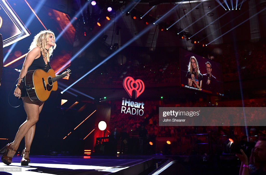 Singer <a gi-track='captionPersonalityLinkClicked' href=/galleries/search?phrase=Lindsay+Ell&family=editorial&specificpeople=11607996 ng-click='$event.stopPropagation()'>Lindsay Ell</a> performs onstage during the 2016 iHeartCountry Festival at The Frank Erwin Center on April 30, 2016 in Austin, Texas.