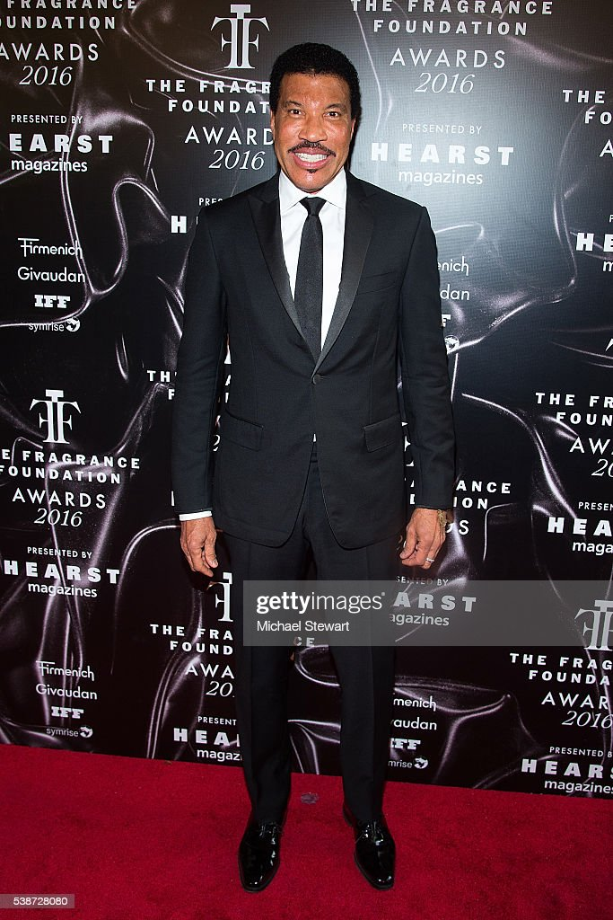 Singer Lionel Richie attends the 2016 Fragrance Foundation Awards at Alice Tully Hall at Lincoln Center on June 7 2016 in New York City