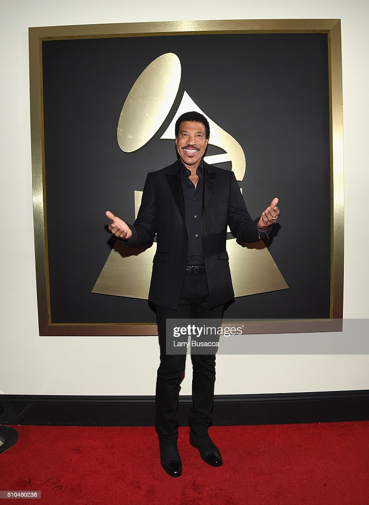 Singer <a gi-track='captionPersonalityLinkClicked' href=/galleries/search?phrase=Lionel+Richie&family=editorial&specificpeople=204139 ng-click='$event.stopPropagation()'>Lionel Richie</a> attends The 58th GRAMMY Awards at Staples Center on February 15, 2016 in Los Angeles, California.
