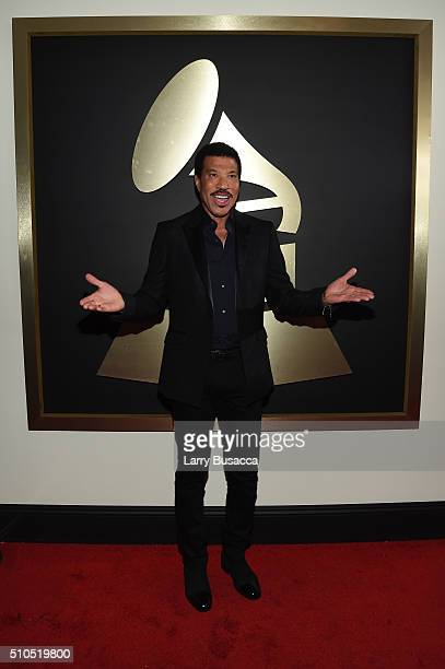 Singer Lionel Richie attends The 58th GRAMMY Awards at Staples Center on February 15 2016 in Los Angeles California
