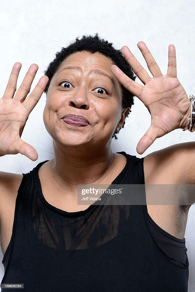 Singer <a gi-track='captionPersonalityLinkClicked' href=/galleries/search?phrase=Lisa+Fischer&family=editorial&specificpeople=2034470 ng-click='$event.stopPropagation()'>Lisa Fischer</a> poses for a portrait during the 2013 Sundance Film Festival at the WireImage Portrait Studio at Village At The Lift on January 21, 2013 in Park City, Utah.