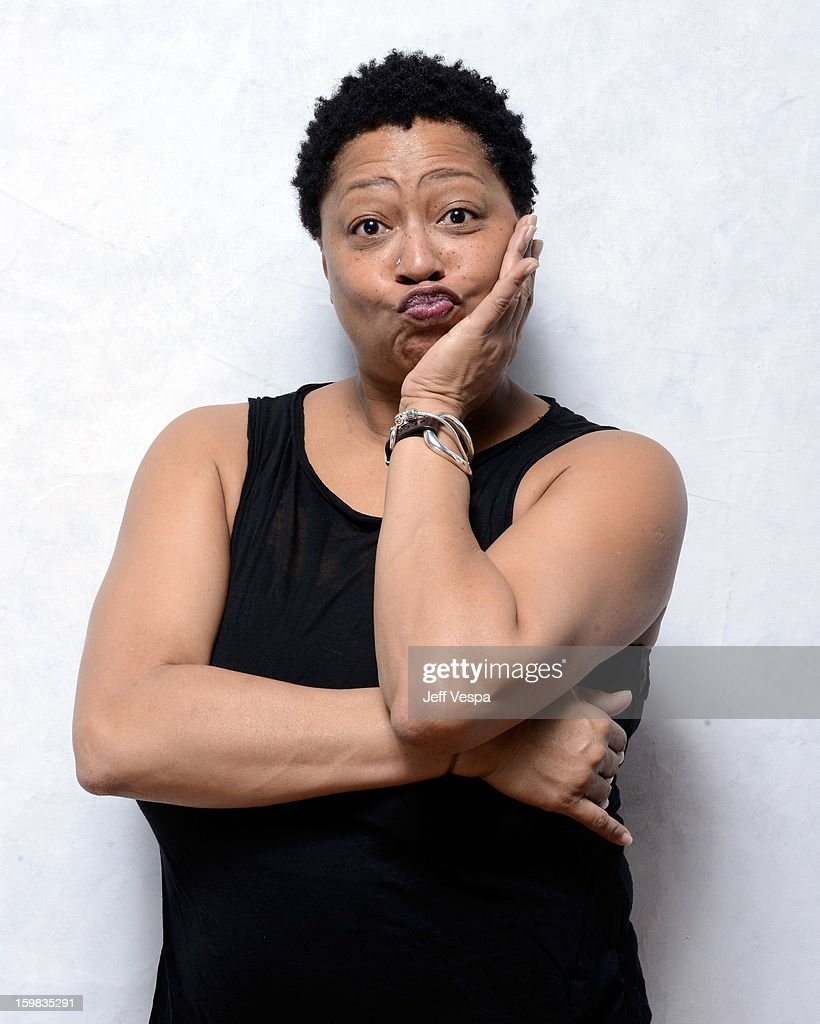 Singer Lisa Fischer poses for a portrait during the 2013 Sundance Film Festival at the WireImage Portrait Studio at Village At The Lift on January 21, 2013 in Park City, Utah.