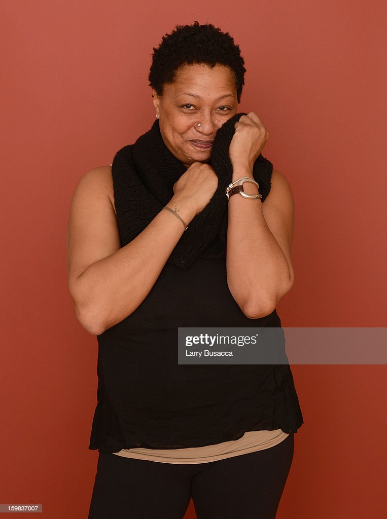 Singer <a gi-track='captionPersonalityLinkClicked' href=/galleries/search?phrase=Lisa+Fischer&family=editorial&specificpeople=2034470 ng-click='$event.stopPropagation()'>Lisa Fischer</a> poses for a portrait during the 2013 Sundance Film Festival at the Getty Images Portrait Studio at Village at the Lift on January 21, 2013 in Park City, Utah.
