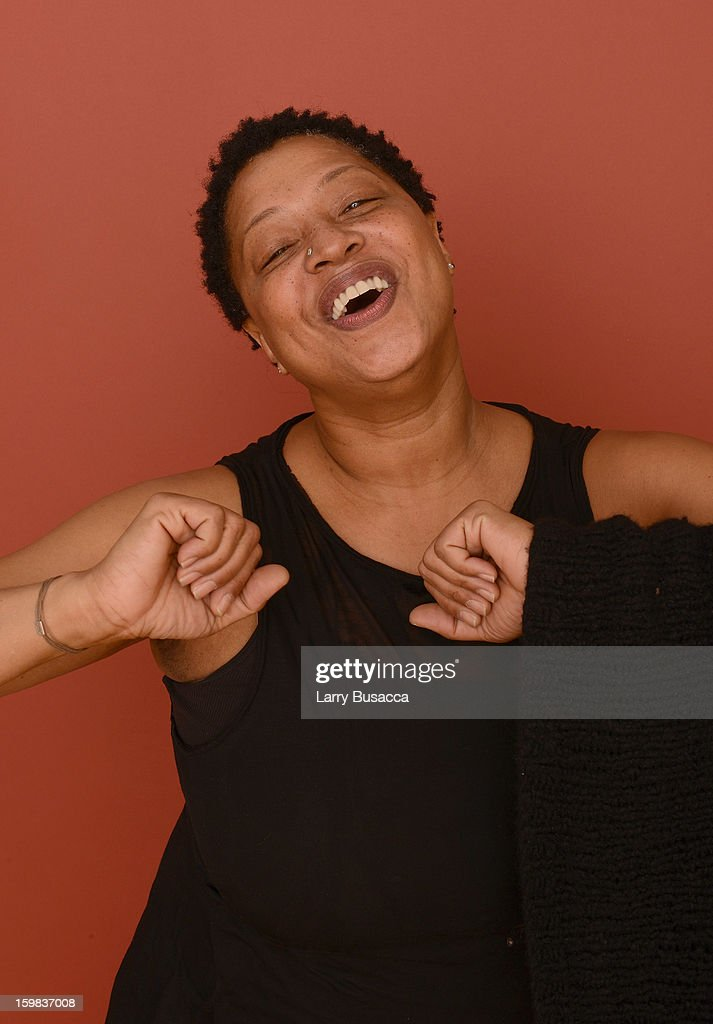 Singer Lisa Fischer poses for a portrait during the 2013 Sundance Film Festival at the Getty Images Portrait Studio at Village at the Lift on January 21, 2013 in Park City, Utah.