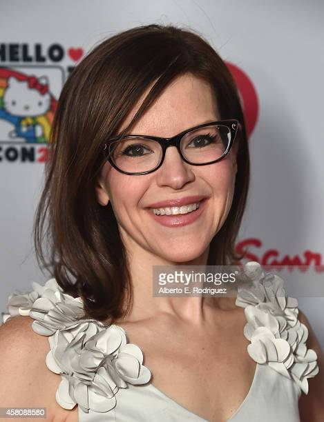 Singer Lisa Loeb arrives to Hello Kitty Con 2014 Opening Night Party Cohosted by Target on October 29 2014 in Los Angeles California