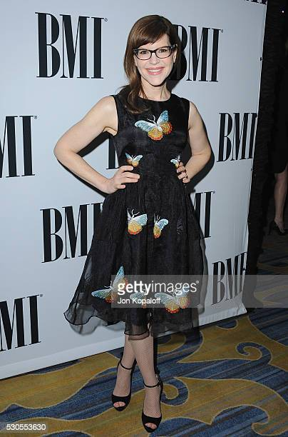 Singer Lisa Loeb attends the 64th Annual BMI Pop Awards at the Beverly Wilshire Four Seasons Hotel on May 10 2016 in Beverly Hills California