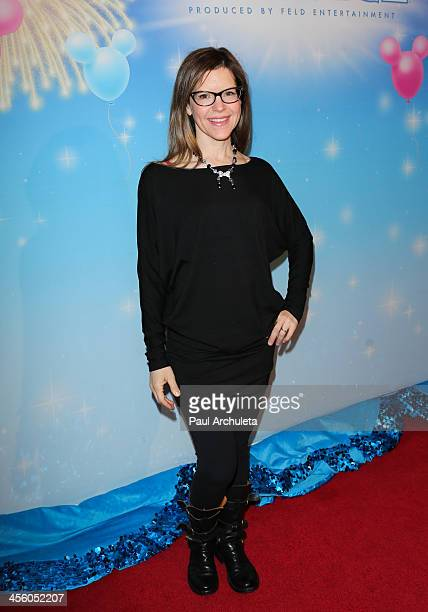 Singer Lisa Loeb attends the Disney On Ice 'Rockin' Ever After' at Staples Center on December 12 2013 in Los Angeles California