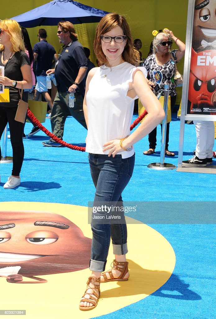 Singer Lisa Loeb attends the premiere of 'The Emoji Movie' at Regency Village Theatre on July 23, 2017 in Westwood, California.