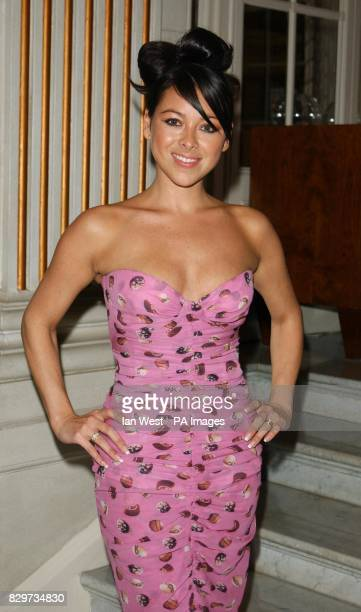 Singer Lisa Scott Lee arrives for The Pink Ribbon Party A Night Of Fashion And Music at the Waldorf Hilton Hotel in Aldwych central London as part of...