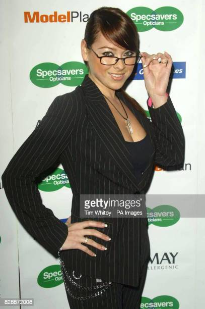 Singer Lisa Scott Lee during the Specsavers Sexiest Spec Wearer/Look of 2003 Grand Final at the Hilton Langham Hotel in central London Tara Palmer...