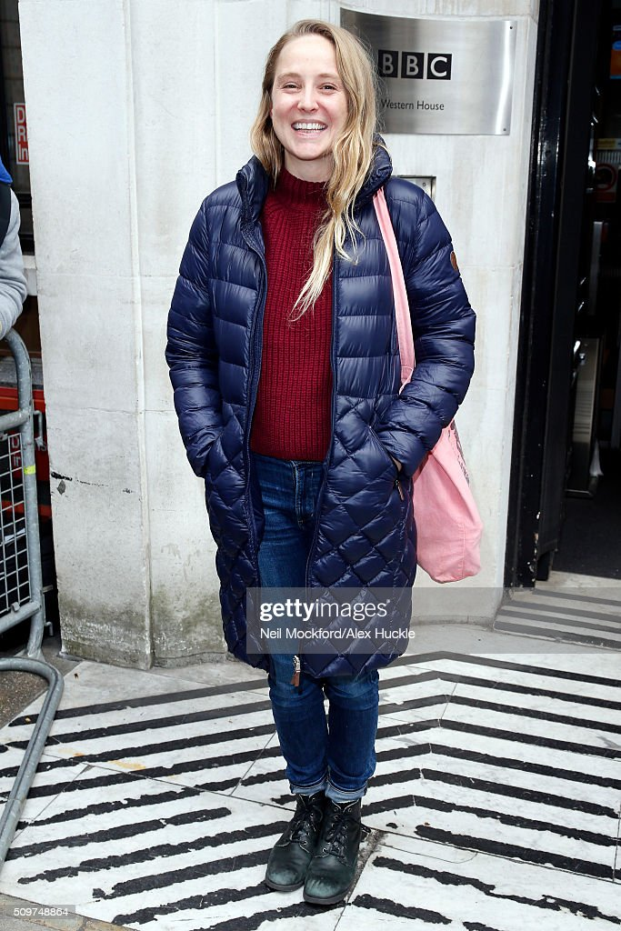 Singer Lissie, born Elisabeth Corrin Maurus seen leaving the BBC Radio 2 Studios on February 12, 2016 in London, England.