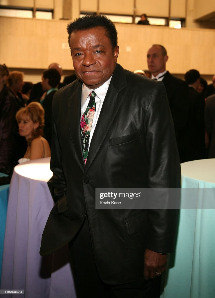 Singer 'Little Anthony' Gourdine of Little Anthony & the Imperials, inductee, attends the 24th Annual Rock and Roll Hall of Fame Induction Ceremony at Public Hall on April 4, 2009 in Cleveland, Ohio.