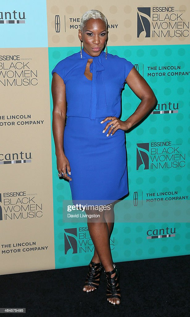 Singer LiV Warfield attends Essence Magazine's 5th Annual Black Women in Music event at 1 OAK on January 22, 2014 in West Hollywood, California.