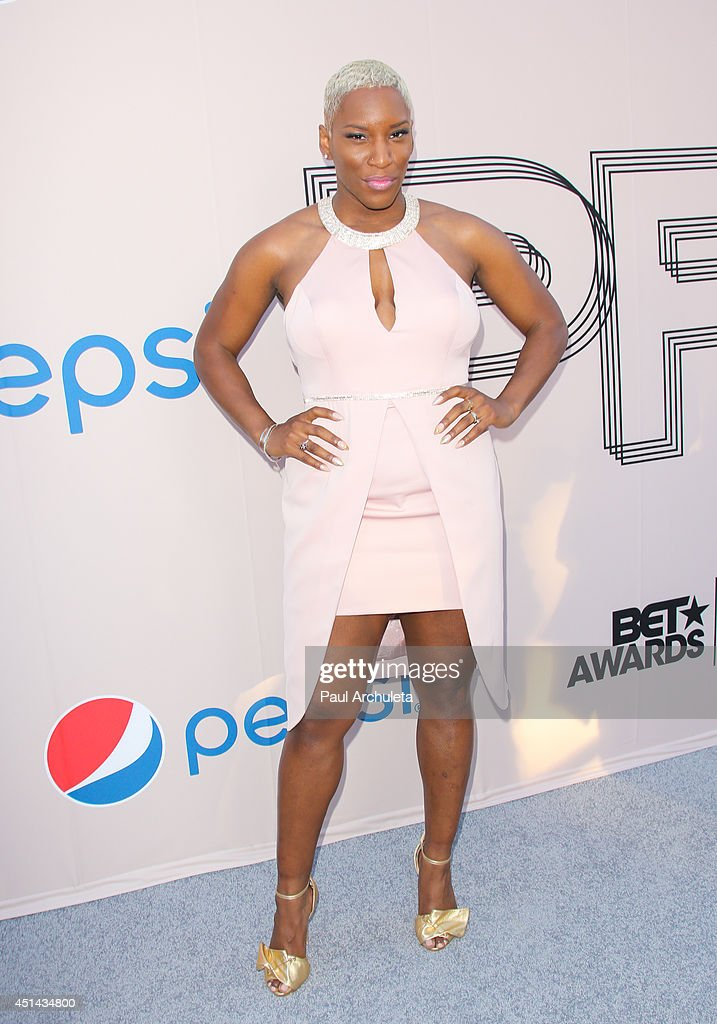 Singer Liv Warfield attends the Pre 'BET Awards' Dinner at Milk Studios on June 28, 2014 in Los Angeles, California.