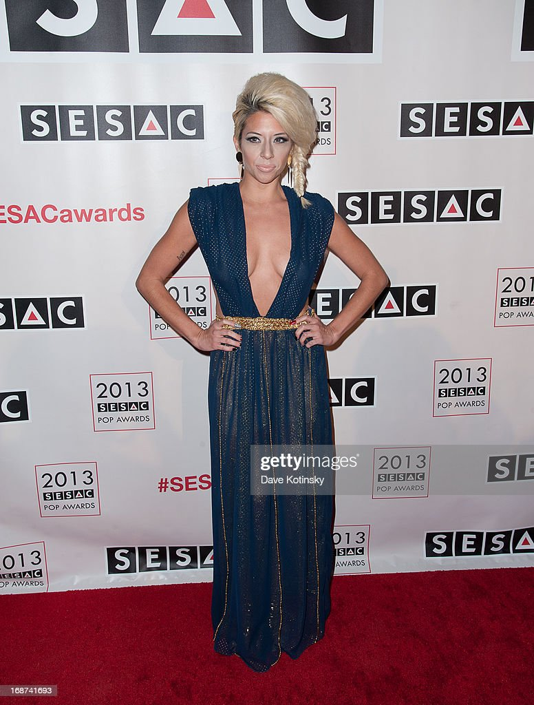 Singer Liza Forero attends 2013 SESAC Pop Music Awards at New York Public Library on May 13, 2013 in New York City.