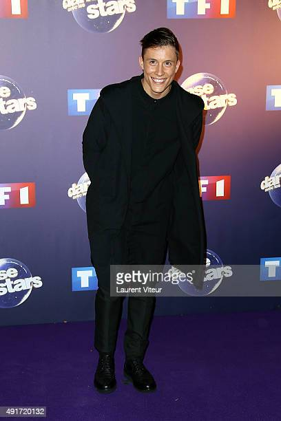 Singer Loic Nottet attends the 'Danse Avec Les Stars 2015' Photocall At TF1 on October 7 2015 in Paris France