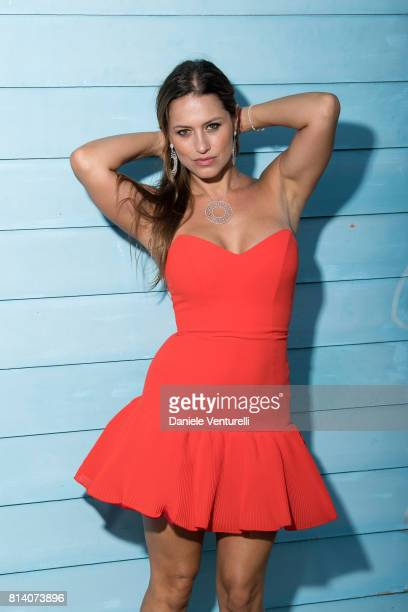 Singer Lola Ponce poses for a portrait session during the 2017 Ischia Global Film Music Fest on July 13 2017 in Ischia Italy