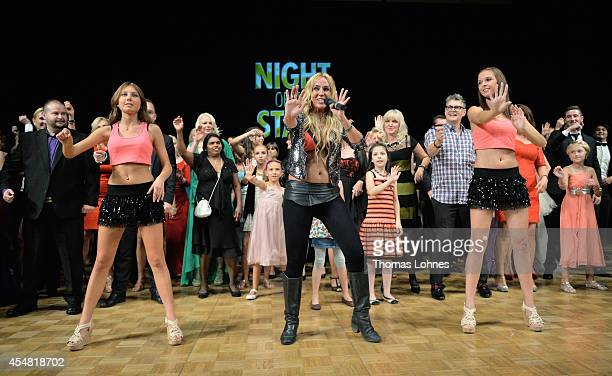 Singer Loona of Netherlands attends the dance gala performance 'Night Of The Stars 2014' on September 6 2014 in Aschaffenburg Germany