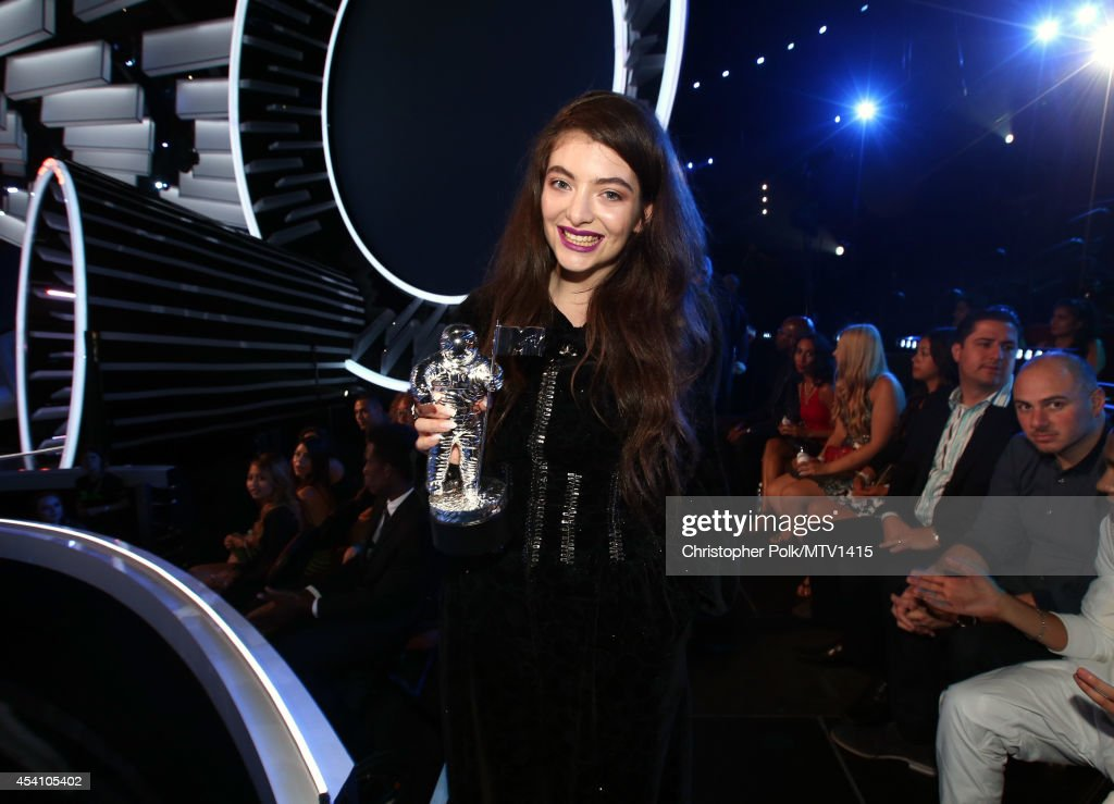 Singer Lorde attends the 2014 MTV Video Music Awards at The Forum on August 24, 2014 in Inglewood, California.