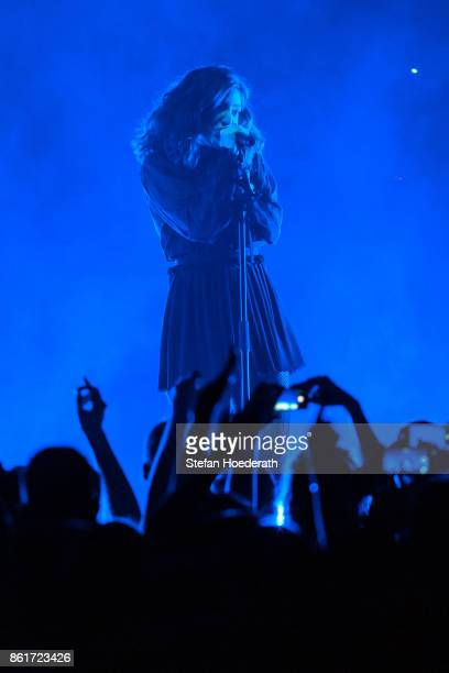 Singer Lorde performs live on stage during a concert at Tempodrom on October 15 2017 in Berlin Germany