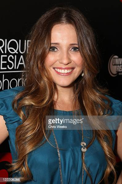 Singer Lorena Nicole attends Target's celebration of Enrique Iglesias' exclusive deluxe version of 'Euphoria' at My House on July 6 2010 in Hollywood...