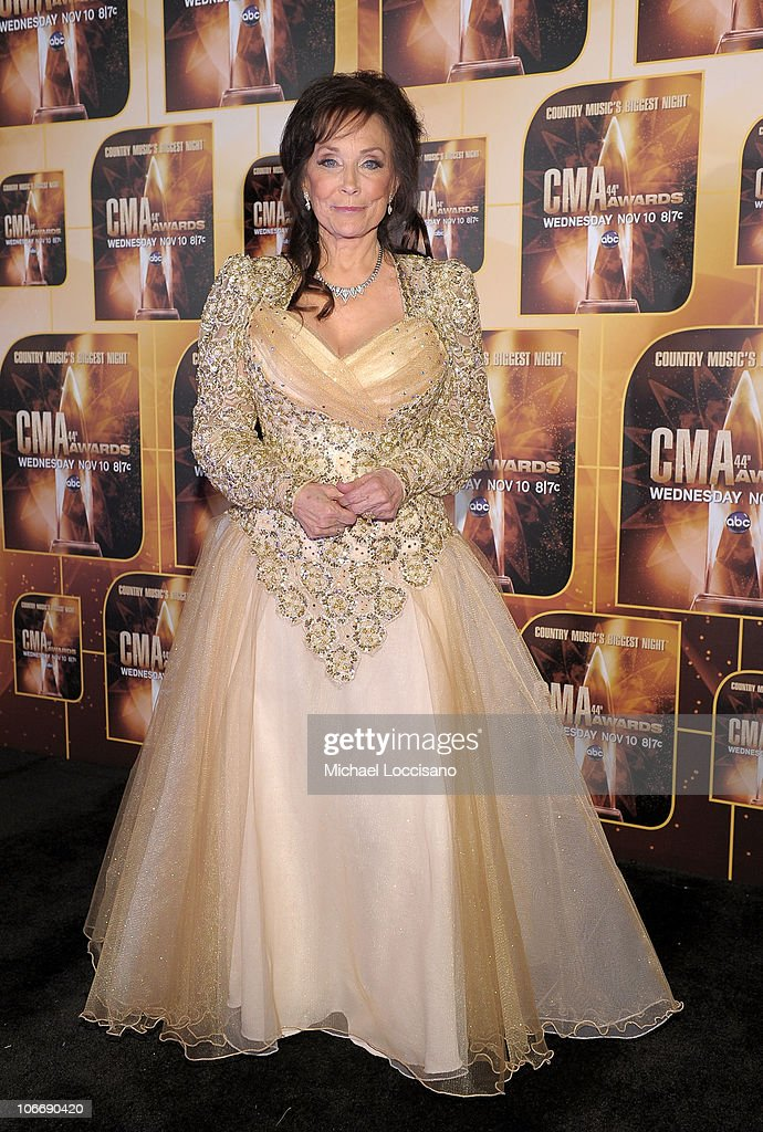 Singer Loretta Lynn attends the 44th Annual CMA Awards at the Bridgestone Arena on November 10, 2010 in Nashville, Tennessee.