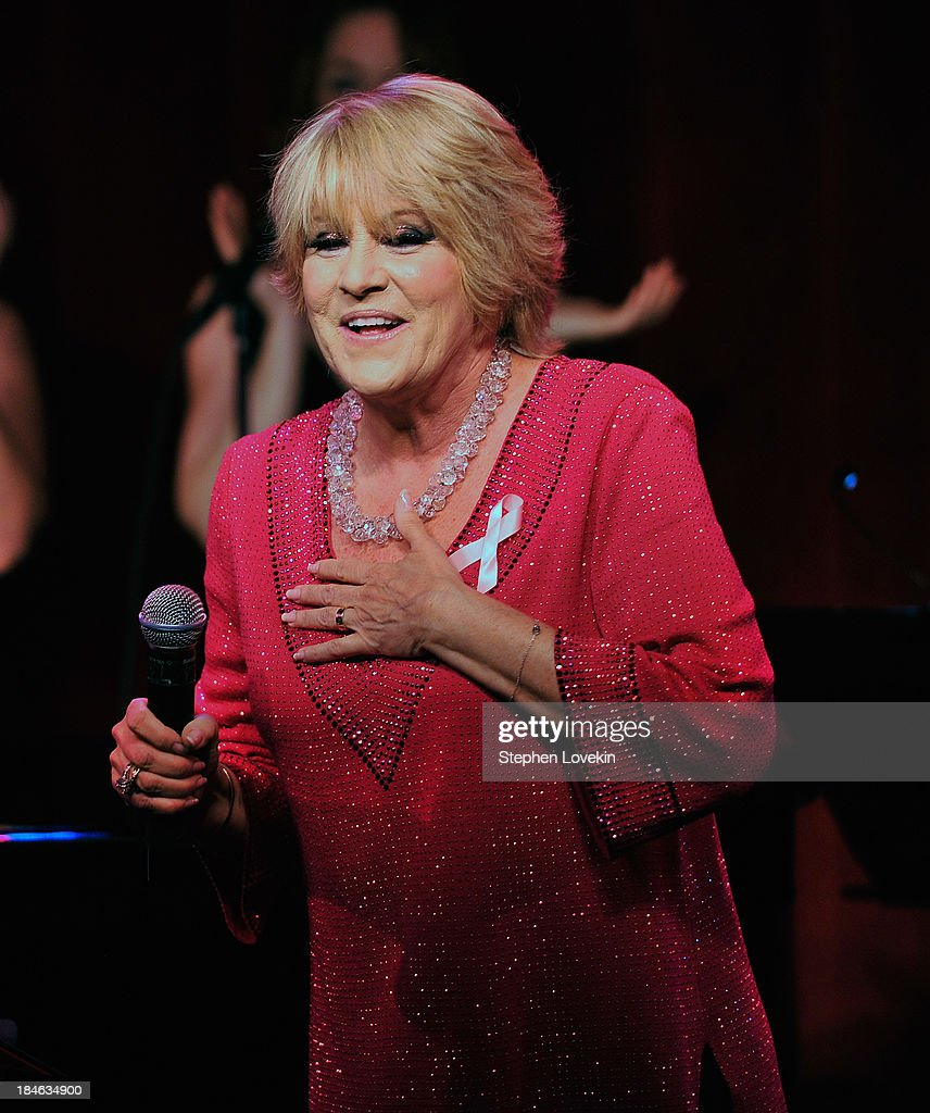 APPLY Singer <a gi-track='captionPersonalityLinkClicked' href=/galleries/search?phrase=Lorna+Luft&family=editorial&specificpeople=207197 ng-click='$event.stopPropagation()'>Lorna Luft</a> performs during 'The Actors Fund And Tower Cancer Research' benefit concert at Birdland Jazz Club on October 14, 2013 in New York City.