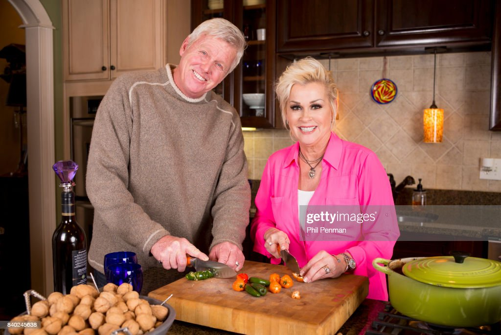 Singer Lorrie Morgan and husband Randy White are photographed for Closer Weekly Magazine on January 20, 2016 at home in Tennessee.