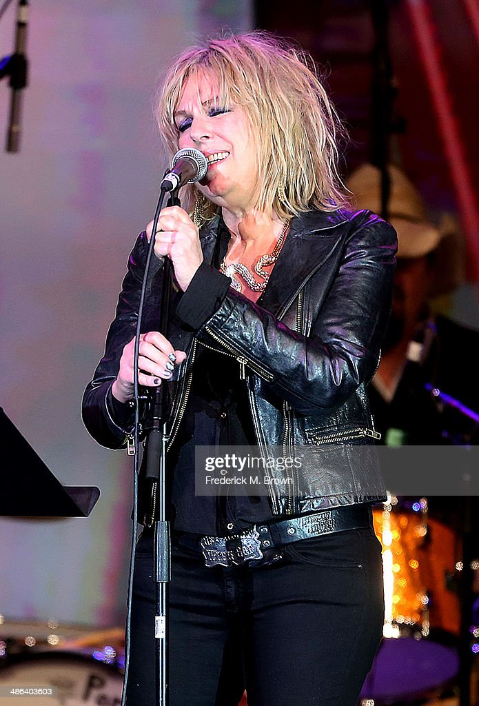 Singer Lucinda Williams performs during the 31st Annual ASCAP Pop Music Awards at The Ray Dolby Ballroom at the Hollywood & Highland Center on April 23, 2014 in Hollywood, California.