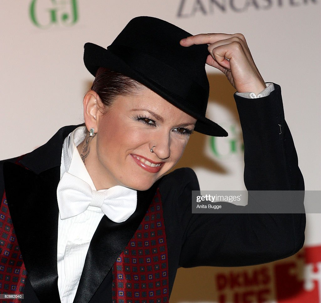 Singer Lucy Diakovska attends the Dreamball2008 charity gala in the Martin-Gropius Building on September 18, 2008 in Berlin, Germany.