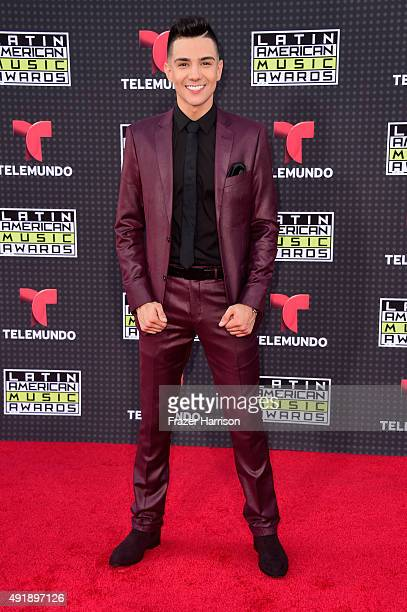 Singer Luis Coronel attends Telemundo's Latin American Music Awards at the Dolby Theatre on October 8 2015 in Hollywood California
