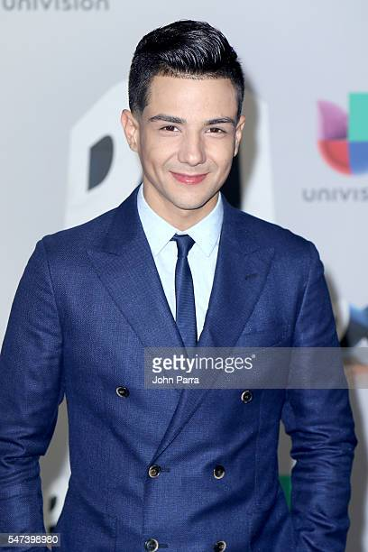 Singer Luis Coronel attends the Univision's 13th Edition Of Premios Juventud Youth Awards at Bank United Center on July 14 2016 in Miami Florida