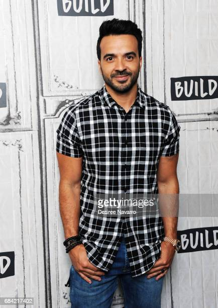 Singer Luis Fonsi attends Build to discuss his new single 'Despacito' at Build Studio on May 17 2017 in New York City