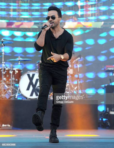 Singer Luis Fonsi performs at 1027 KIIS FM's 2017 Wango Tango at StubHub Center on May 13 2017 in Carson California