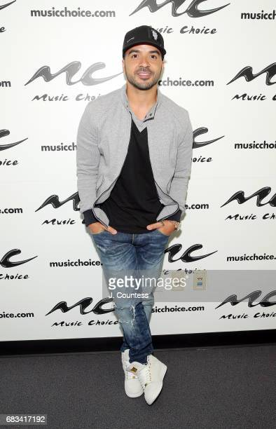 Singer Luis Fonsi poses for a photo during a visit to Music Choice on May 15 2017 in New York City