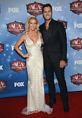Singer Luke Bryan and wife Caroline Bryan arrive at the American Country Awards 2013 at the Mandalay Bay Events Center on December 10 2013 in Las...