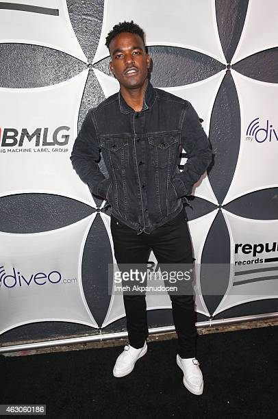 Singer Luke James attends the Republic Records / Big Machine Label Group Grammy Celebration on February 8 2015 in Hollywood California