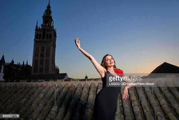 Singer Luz Casal is photographed for Paris Match on June 18 2017 in Seville Spain