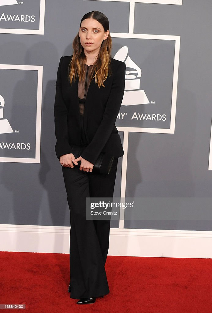 Singer Lykke Li arrives at The 54th Annual GRAMMY Awards at Staples Center on February 12, 2012 in Los Angeles, California.