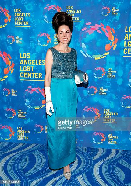 Singer Lynda Kay attends the Los Angeles LGBT Center 47th Anniversary Gala Vanguard Awards at Pacific Design Center on September 24 2016 in West...