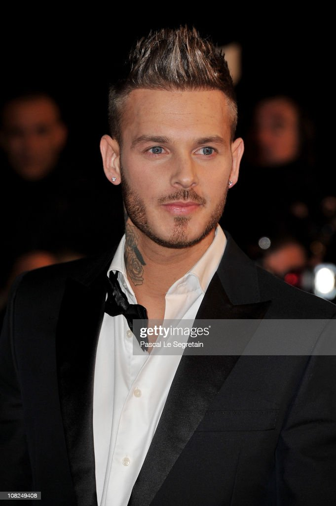 Singer M. Pokora attends the NRJ Music Awards 2011 on January 22, 2011 at the Palais des Festivals et des Congres in Cannes, France.