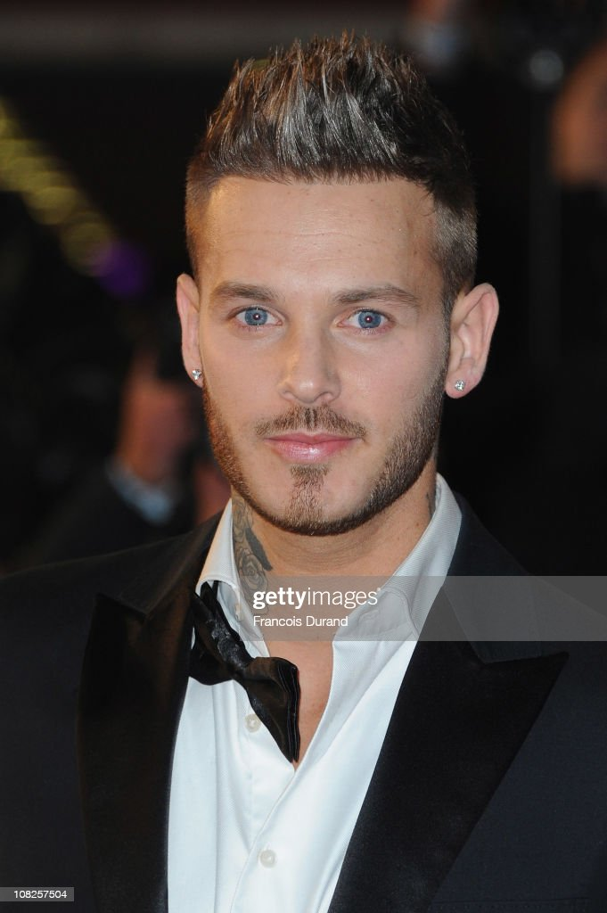 Singer M Pokora attends the NRJ Music Awards 2011 on January 22, 2011 at the Palais des Festivals et des Congres in Cannes, France.