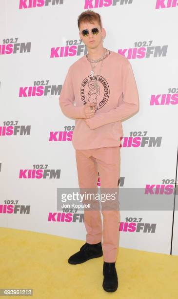 Singer Machine Gun Kelly arrives at 1027 KIIS FM's 2017 Wango Tango at StubHub Center on May 13 2017 in Carson California