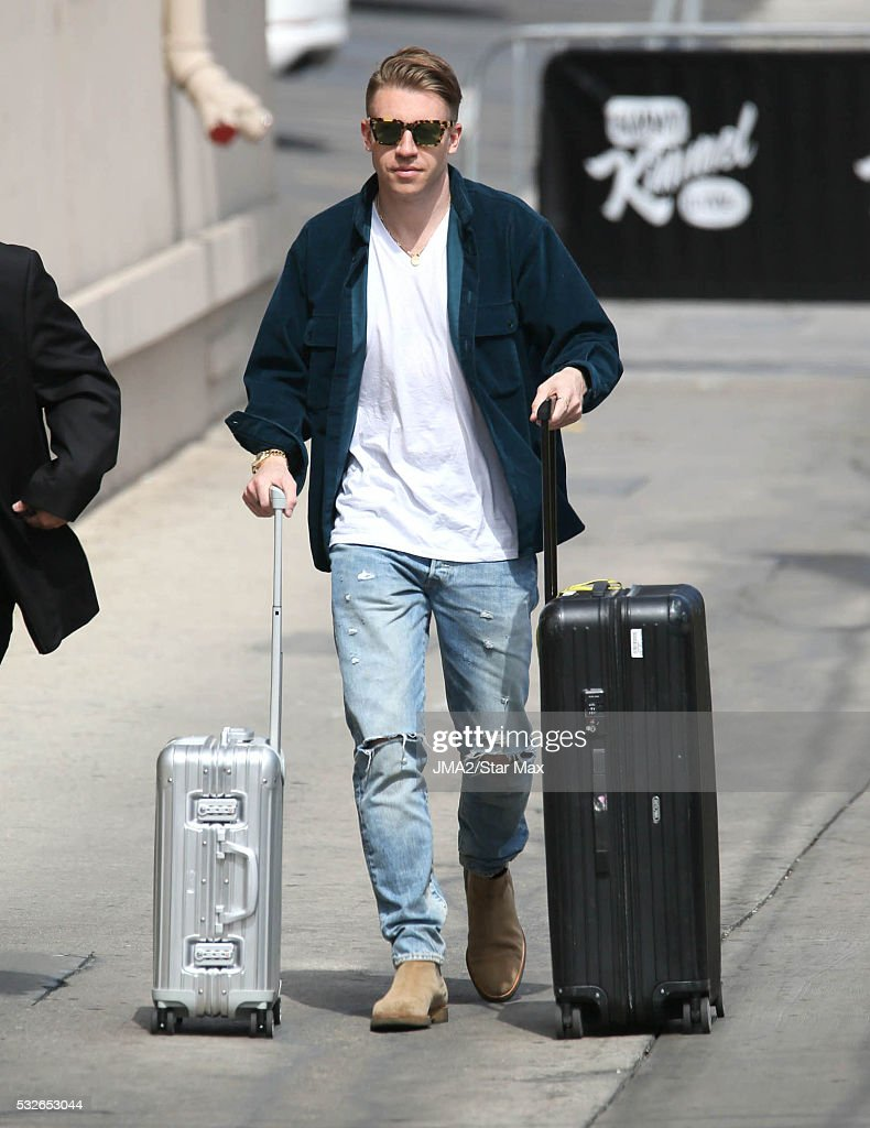 Singer Macklemore is seen on May 18 2016 in Los Angeles CA