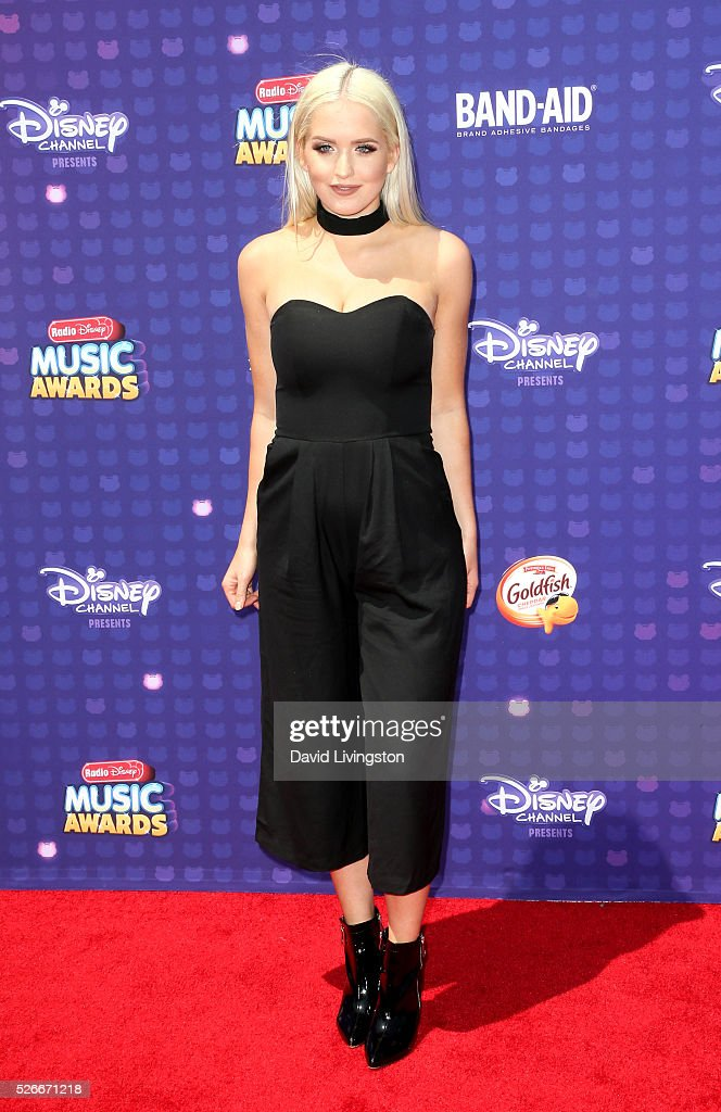 Singer Macy Kate attends the 2016 Radio Disney Music Awards at Microsoft Theater on April 30, 2016 in Los Angeles, California.