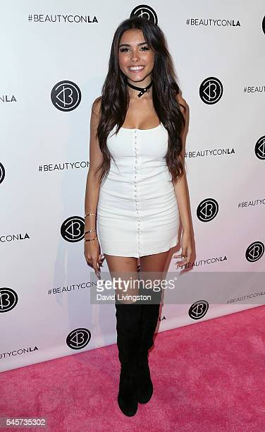 Singer Madison Beer attends the 4th Annual Beautycon Festival Los Angeles at the Los Angeles Convention Center on July 9 2016 in Los Angeles...