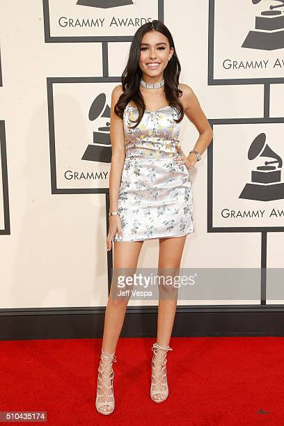 Singer Madison Beer attends The 58th GRAMMY Awards at Staples Center on February 15 2016 in Los Angeles California