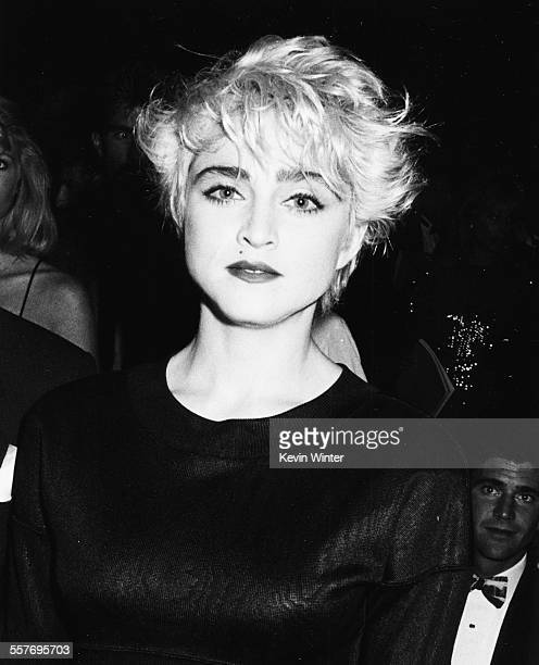 Singer Madonna at an event circa 1988
