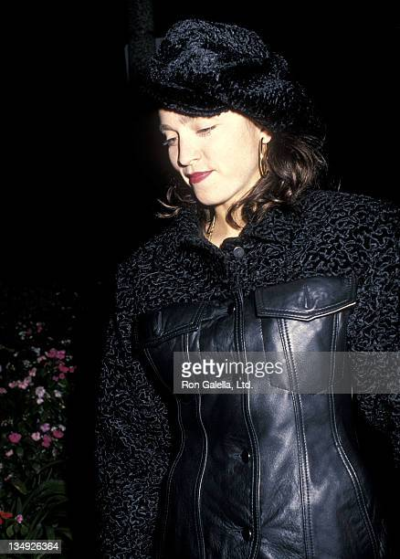 Singer Madonna attends Sandy Gallin's Holiday Party on December 18 1988 at Sandy Gallin's Home in Beverly Hills California